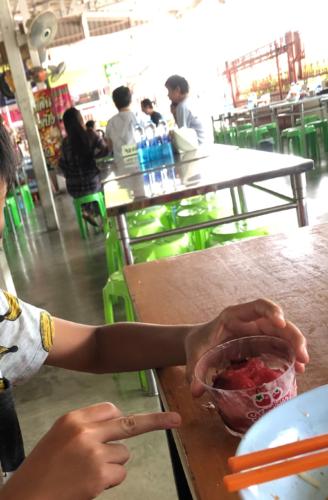 タイのアイス